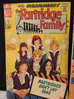 1972 73 CHARLTON COMICS~PARTRIDGE FAMILY~DAVID CASSIDY