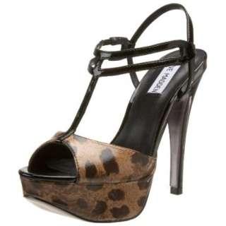 Steve Madden Womens Naughtty T Strap Sandal   designer shoes