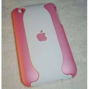 New Apple iPhone 3G / 3GS Pink and White Dual 2 Tone High Quality Hard