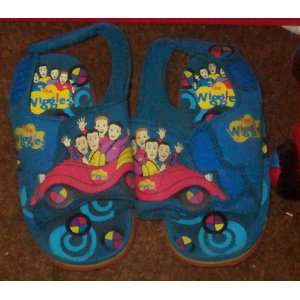 The Wiggles Sandals Big Red Car shoes