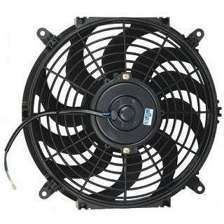 PROCOMP 7 INCH ELECTRIC AUTO COOLING FAN 12 VOLT CURVED