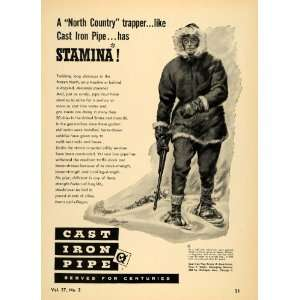 Iron Pipe Winter Gun Nome Alaska   Original Print Ad Home & Kitchen