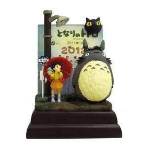 Japanese Anime Calendar 2012 Totoro Figure Calendar Bus
