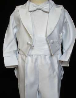 Baby Boy Communion Christening Baptism Outfit Suit w/hat size XS SM L