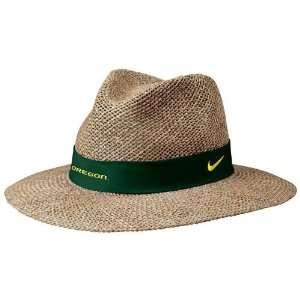 Nike Oregon Ducks Summer Straw Hat: Sports & Outdoors