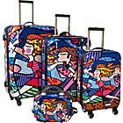 Britto Collection by Heys USA Blossom 4 Piece Luggage Set