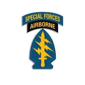 Special Forces Airborne Arrow Shoulder Sleeve Logo Sticker