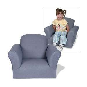 Upholstered Rocking Chair Safari Blue Baby