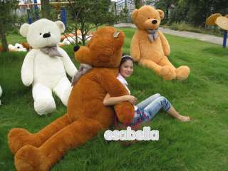 NEW GIANT 78 TEDDY BEAR SOFT STUFFED 100% COTTON 200CM |