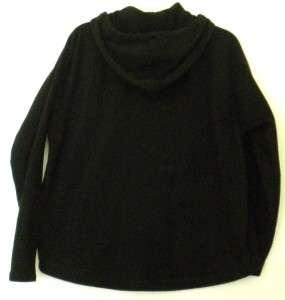 Harley Davidson Womens Fleece Hoodie Pullover Jacket Sz L Long