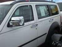 Dodge Nitro chrome DOOR HANDLE/MIRROR/TAIL LIGHT/REAR LIFT GATE covers