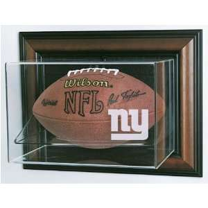 New York Giants NFL Case Up Football Display Case