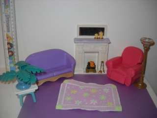 Fisher Price Loving Family Fireplace Living Room Lot