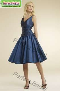 Short Wedding Dress Bridal Party Bridesmaid Ball Cocktail Evening Gown