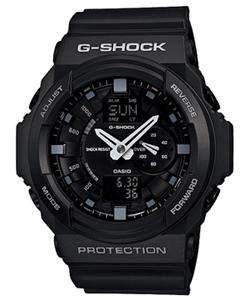 BRAND NEW CASIO G SHOCK BLACK XL SERIES DIGITAL ANALOG WATCH GA150 1A