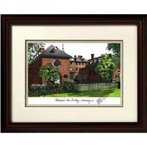 Hampton University Alma Mater Framed Lithograph  Sports