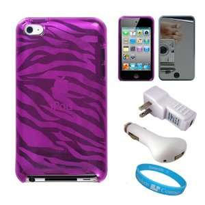 Design TPU Protective Skin Cover for Apple iPod Touch 4th Generation