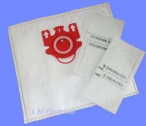 MIELE FJM TYPE VACUUM CLEANER DUST BAGS X20 & 8 FILTERS