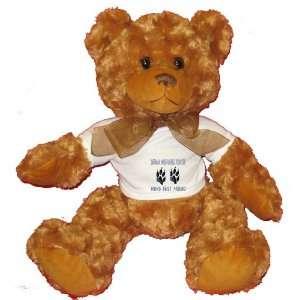 GERMAN WIREHAIRED POINTER MANS BEST FRIEND Plush Teddy