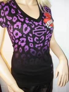 Davidson Untamed Instinct Rose Heart T Shirt Daytona Beach Fl Large
