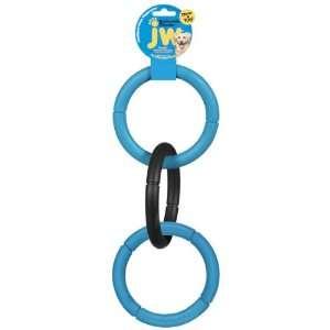 JW Pet Company Invincible Chains LT Triple Dog Toy, Large