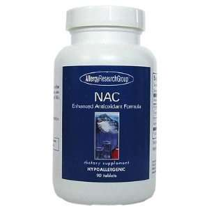 NAC Enhanced Antioxidant Formula 200 mg 90 Tablets   Allergy Research