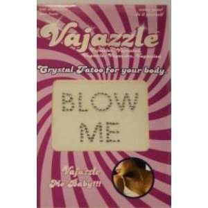 Bundle Vajazzle Blow Me and 2 pack of Pink Silicone Lubricant 3.3 oz