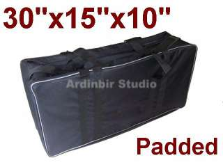 Photography Studio Light Lighting Kit Carry Bag Case
