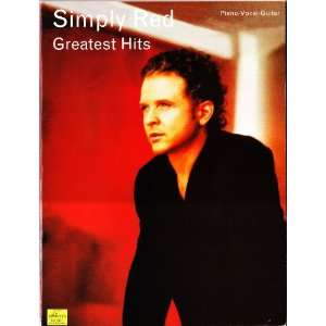 Simply Red, Greatest Hits Songbook (Piano / Vocal / Guitar
