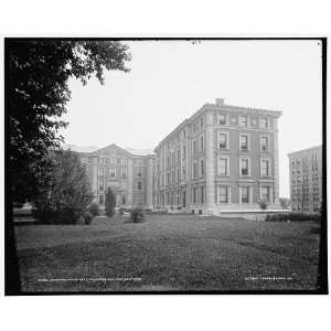 Fayerweather Hall,Columbia College,N.Y.