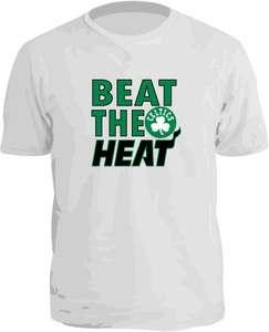 BOSTON CELTICS NBA PLAYOFF SHIRT BEAT THE HEAT New PIERCE RONDO