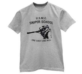 USMC Sniper School T Shirt us marine corps army