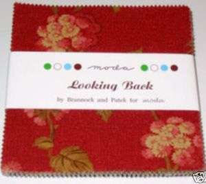 Squares Charm Looking Back Moda Fabric Quilt