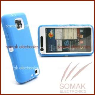 BLUE DOUBLE LAYER RUGGED HARD CASE COVER SHELL ARMOR FOR SAMSUNG