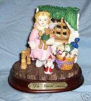 Da Vinci Collection Figurine Scene Little Girl w/Toys