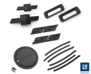 Chevrolet Camaro 2010 2012 SS Accessories Package Black Powder Coat CB