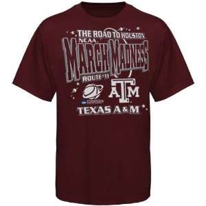 Texas A&M Aggies Maroon 2011 NCAA March Madness Road To