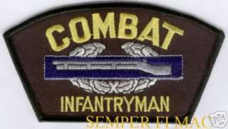 COMBAT INFANTRY BADGE US ARMY PATCH CIB VIETNAM IRAQ