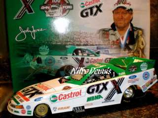 NHRA JOHN FORCE 116 Funny Car 100 Wins Action NITRO