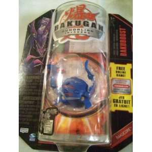 Bakugan Gundalian Invaders Blue Aquos Dharak [Toy]  Toys & Games