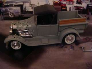 29 Ford Model A RAT ROD Pick up 1/64 Scale Ltd Edit