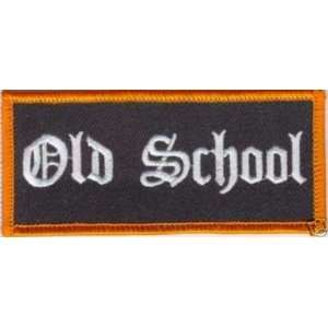 SCHOOL Fun Quality Embroidered Biker Vest Patch!!!!: Everything Else