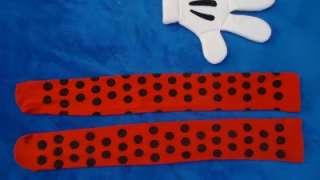 HALLOWEEN COSTUME DISNEYLAND DISNEY MICKEY MOUSE MINNIE STOCKINGS