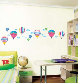 Hot Air Balloon Wall Stickers Vinyl Decals Kids Room