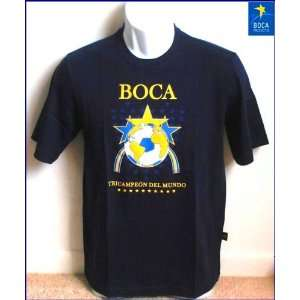 Blue TRICAMPEON DEL MUNDO. Sizes Youth S M L XL