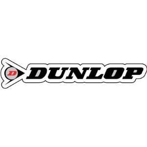 Dunlop Racing Motorcycle Biker Sticker Decal 8 X 1.7