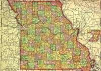 1921 History & Genealogy of HARRISON County Missouri MO