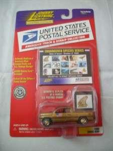 COOL Johnny Lightning 1996 Dodge Ram USPS Truck & Stamp