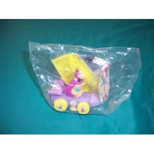 Burger King Toy (DINO AND FRED PULL BACK CAR NEW)