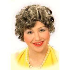 1940s Wartime Rollers Fancy Dress Wig Inc FREE Wig Cap